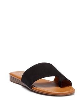 Grayson Leather Sandal by Franco Sarto