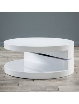 Large Circular Mod Rotatable Coffee Table By Christopher Knight Home by Christopher Knight Home