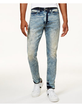 Men's Mercer Slim Straight Stretch Jeans, Created For Macy's by Sean John