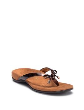 Bella Tortoise Thong Sandal by Vionic