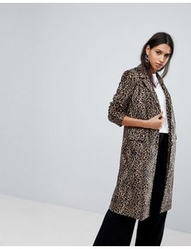 Helene Berman Leopard Print College Coat by Coat