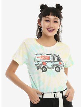 Scooby Doo Mystery Machine Tie Dye Girls T Shirt by Hot Topic