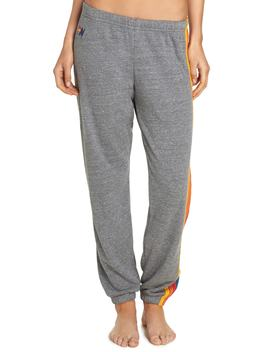 Stripe Sweatpants by Aviator Nation