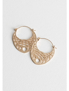Cutout Wreath Hoops by & Other Stories