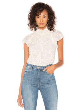Ellie Embroidery Top by Rebecca Taylor