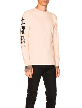 Hanja L/S Tee by Saturdays Nyc