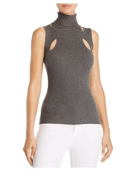Exeter Cutout Turtleneck Sweater  by Bailey 44