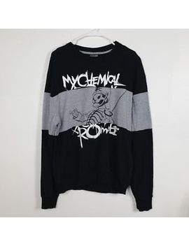 My Chemical Romance Black Parade Men's Size Large Sweatshirt Rock Two Tone by My Chemical Romance