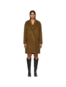Tan Filipo Coat by Isabel Marant