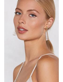 Clear As Day Earrings by Nasty Gal