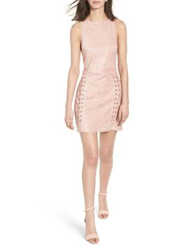 Daton Faux Suede Dress by Cupcakes And Cashmere