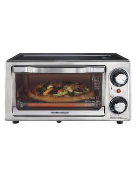 Hamilton Beach Toaster Oven   Black (4 Slice)  31137 by Hamilton Beach