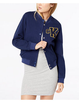 Graphic Varsity Jacket by Calvin Klein Jeans