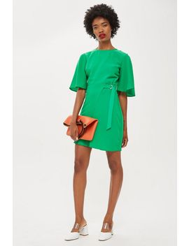 Cut Out Mini Dress by Topshop