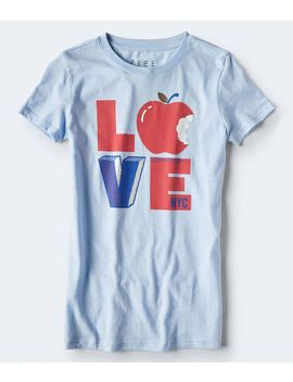 Free State Love Pop Art Graphic Tee by Aeropostale
