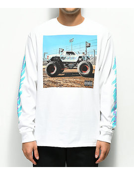 Oliver Tree All That White Long Sleeve T Shirt by Warner Music Group