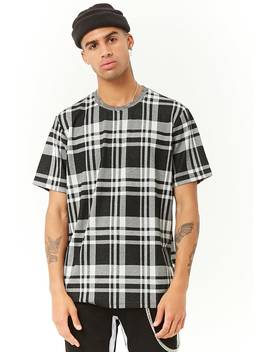 Plaid Short Sleeve Tee by Forever 21