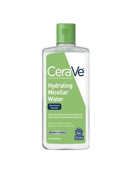 Cera Ve Hydrating Micellar Cleansing Water, Ultra Gentle Cleanser And Makeup Remover   10oz by Cera Ve
