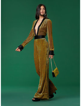 Long Sleeve Sash Jumpsuit&Nbsp; by Dvf
