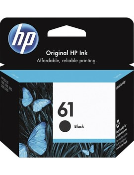61 Ink Cartridge   Black by Hp