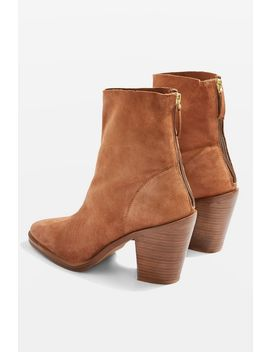 March Western Boots by Topshop