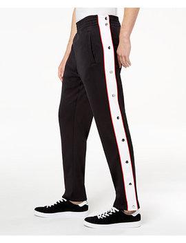 I.N.C. Men's Descendants Side Stripe Track Pants, Created For Macy's by Inc International Concepts