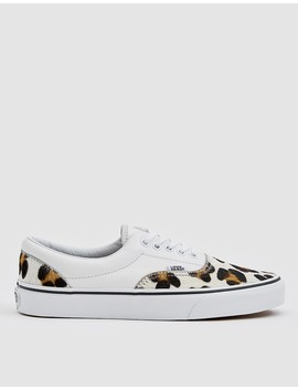 Era In Leopard/True White by Vans