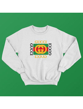 New Style Gucci Mens White Sweatshirt  Good Quality Sweater Hoodie by Etsy