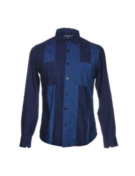 Blue Blue  Japan Striped Shirt   Shirts U by Blue Blue  Japan