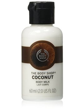The Body Shop Milk Lotion, Coconut, 2.0 Fluid Ounce by The Body Shop