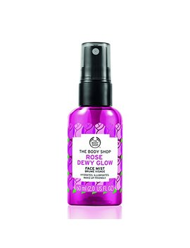 The Body Shop Rose Dewy Glow Face Mist, Hydrating, Illuminating & Make Up Friendly, 100 Percents Vegan, 2 Fluid Ounce by The Body Shop