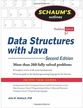 Schaum's Outline Of Data Structures With Java, 2ed (Schaum's Outlines) by Amazon