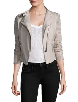 Paige Leather Jacket by Lamarque