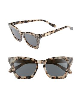 Ginza 50mm Cat Eye Sunglasses by Sonix