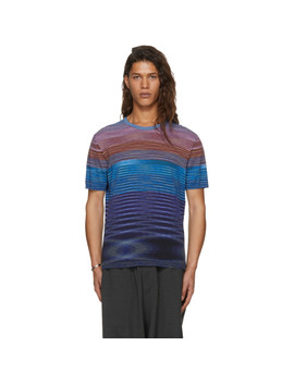 Multicolor Striped T Shirt by Missoni
