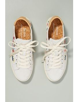 Soludos X Anthropologie Embroidered Ibiza Sneakers by Soludos X Anthropologie