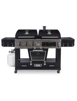Pit Boss Memphis Ultimate 4 In 1 Lp Gas, Charcoal, Smoker by Pit Boss
