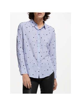 Rails Taylor Flocked Star Shirt, Blue by Rails