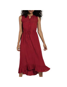 Fat Face Kiki Dress, Washed Red by Fat Face