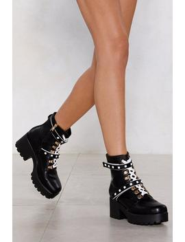 Junk In The Trunk Chunky Boot by Nasty Gal