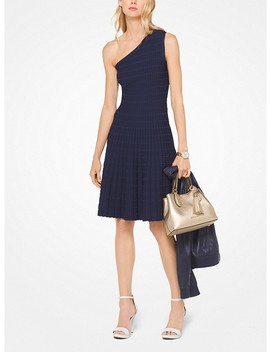Asymmetrical Stretch Knit Dress by Michael Michael Kors