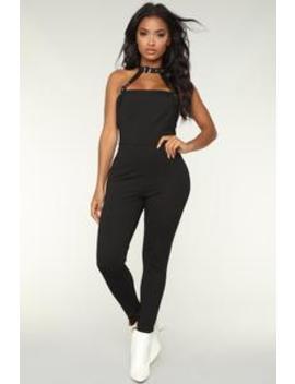 Unapologetic Love Jumpsuit   Black by Fashion Nova