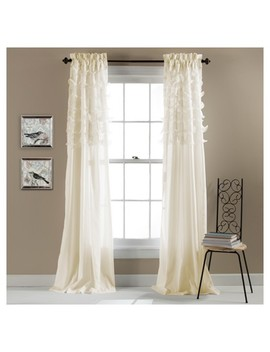 "Set Of 2 Avery Window Curtain (84""X54"")   Lush Décor by Lush Decor"