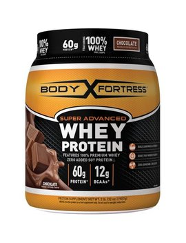 Body Fortress Super Advanced Whey Protein Powder, Chocolate, 60g Protein, 2 Lb by Body Fortress