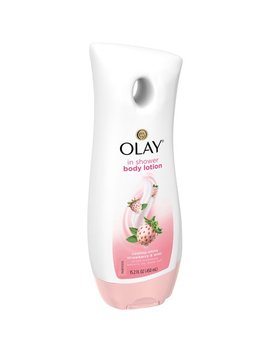 Olay Cooling White Strawberry & Mint In Shower Body Lotion, 15.2 Fl Oz by Olay