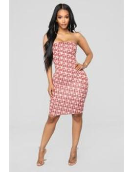 Better Have Fun Dress   Pink by Fashion Nova