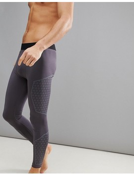 Yourturn Active Running Tights In Grey by Yourturn