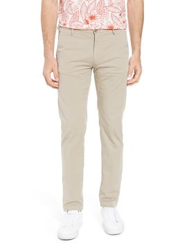 Rice Slim Fit Chino Pants by Boss