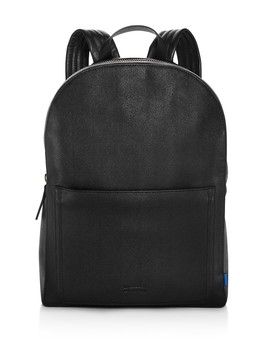 Barrow Micro Caviar Textured Leather Backpack by Uri Minkoff