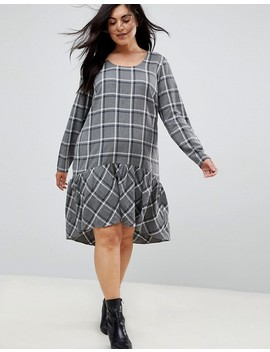 Junarose Check Smock Dress by Junarose